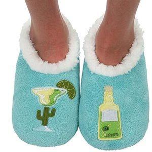 Accessories - Snoozies Women's Applique Slipper Socks Margarita